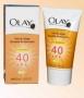 Увлажняющий Солнцезащитный крем с УФ-фильтрами «Olay» c SPF 40